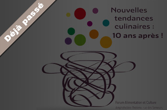 10e rencontres François-Rabelais: zoom sur les nouvelles tendances culinaires
