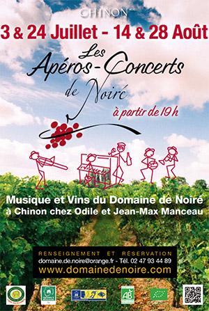 Les apéros-concerts de Noiré: musique dans les vignes et dégustation de vins