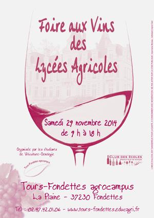 24e foire aux vins des lycées agricoles à Fondettes