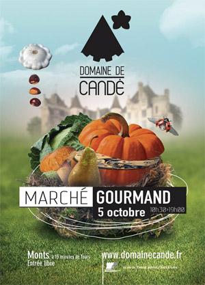 Marché gourmand d'automne au domaine de Candé