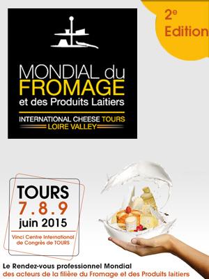Mondial du fromage à Tours, le retour!