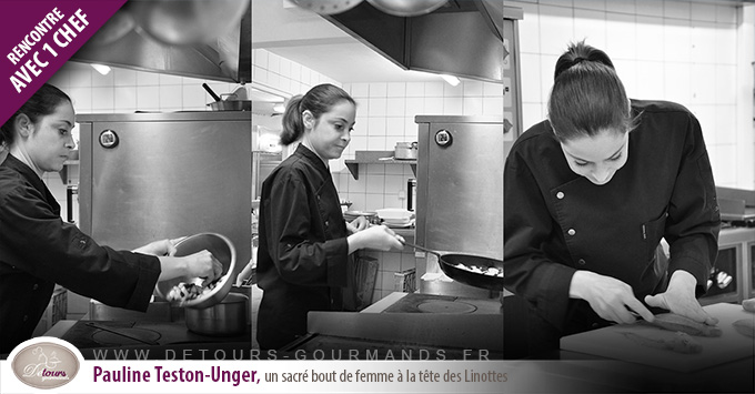 Pauline Teston-Unger, un sacré bout de femme à la tête des Linottes