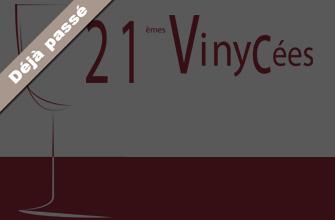 Salon des vins: 21e cuvée pour Vinycées